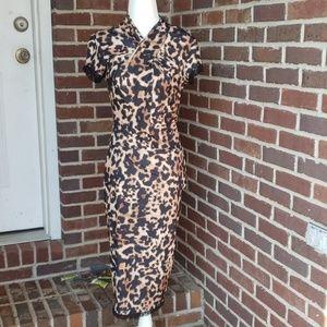 NEW Sexy Leopard Print Wiggle Dress Venus